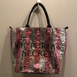 Victoria's Secret Bags - Victoria's Secret Black Friday sequin tote.